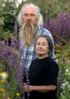 Brian and Josse Emerson in Hilltop Garden,photo by Philip Smith